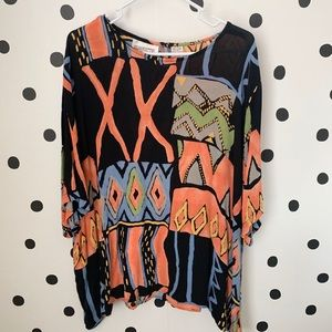 Tops - 🔥30%OFF🔥EUC SILHOUETTES blouse size 3X